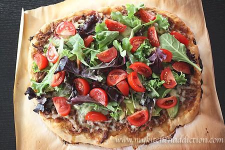 Shredded Beef Taco Pizza