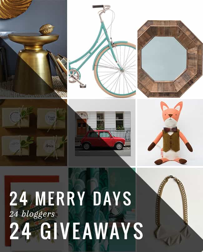24 Merry Days of Giveaways | Hello Glow