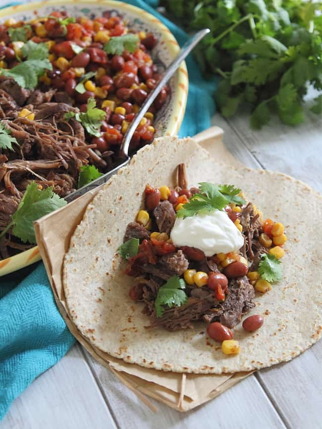 5 Ingredient Mexican Beef | HelloNatural.co