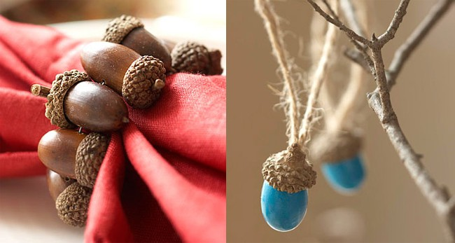 DIY Acorn Decor