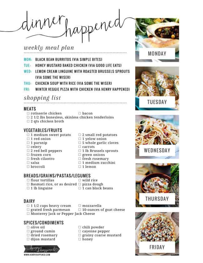 DinnerHappenedShoppingList11.11.13