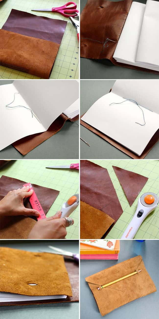 DIY Anthropologie Journal | HelloGlow.co