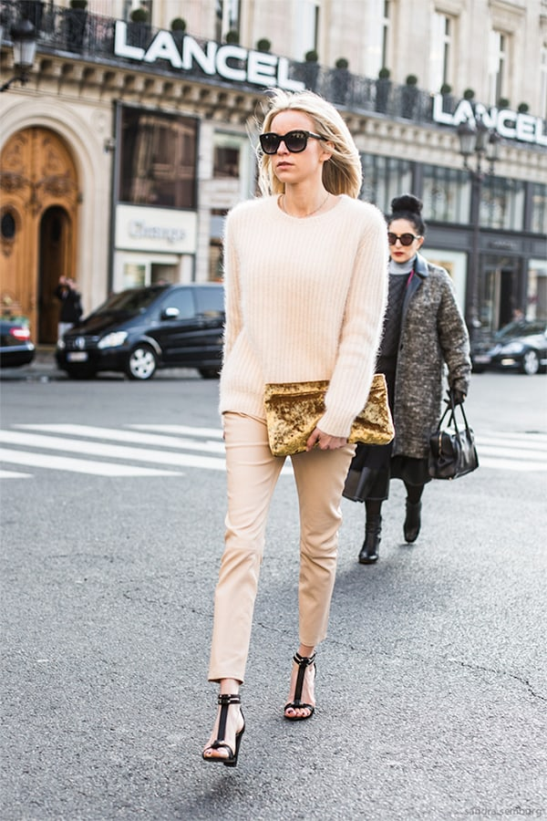 NUDE SWEATER + PANTS