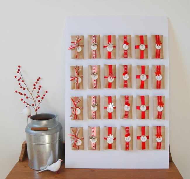 Toiler Paper Roll Advent Calendar | Hello Glow