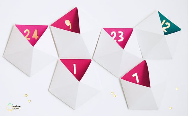Geometric Advent Calendar | Hello Glow