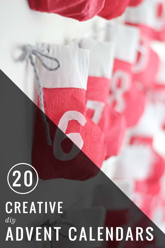 20 Creative DIY Advent Calendars | Hello Glow