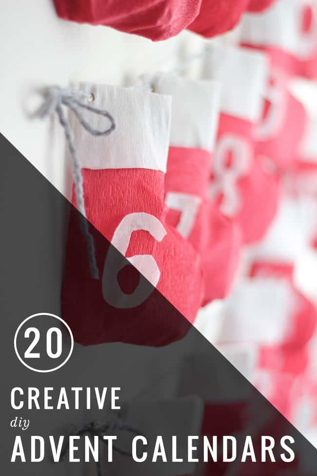 20 Unique Diy Wind Chimes: 20 Creative DIY Advent Calendars