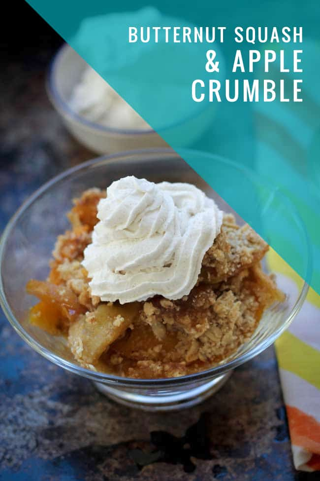 Butternut Squash and Apple Crumble Recipe | Hello Glow