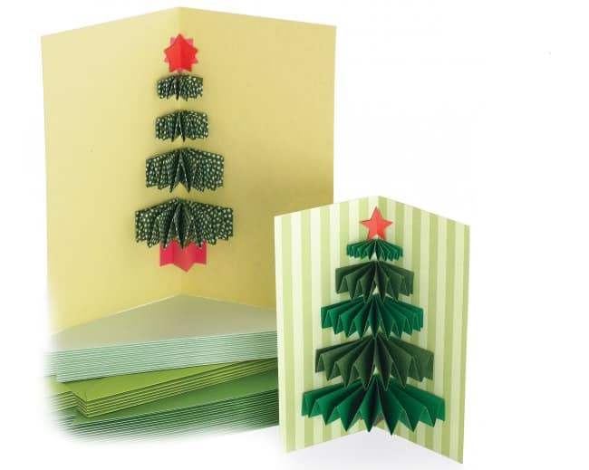 diy holiday cards pop-up