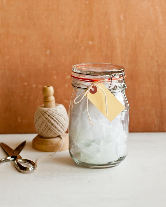 Gift Wrap Jar   Hello Glow