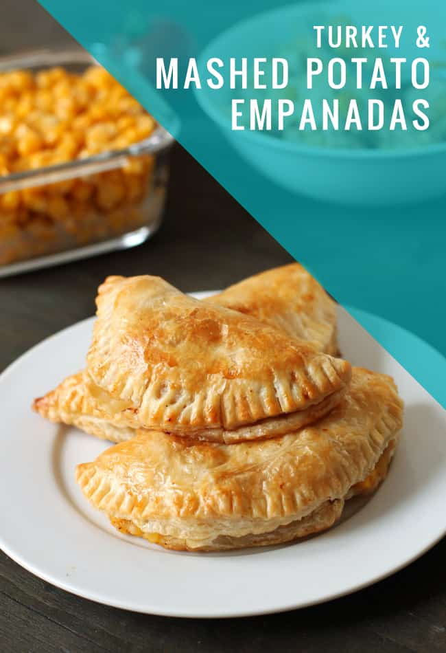 Turkey and Mashed Potato Empanadas | Hello Glow