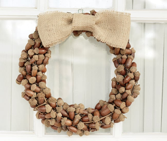 Rustic Acorn Fall Wreath