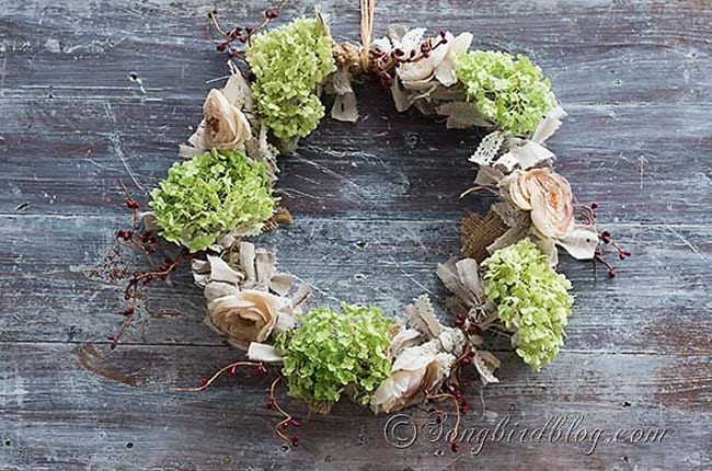 Romantic Fall Wreath