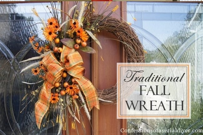 Traditional Fall Wreath