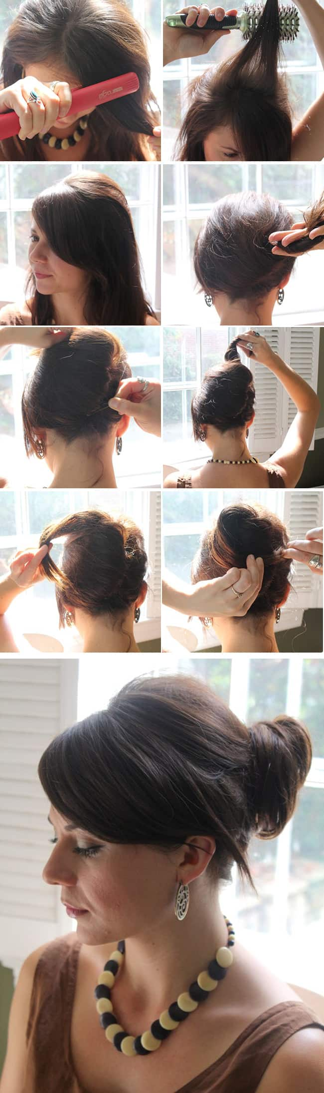 Jessica Alba's Sophisticated Chignon Tutorial | Hello Glow