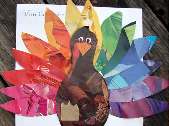 kids fall crafts magazine turkey