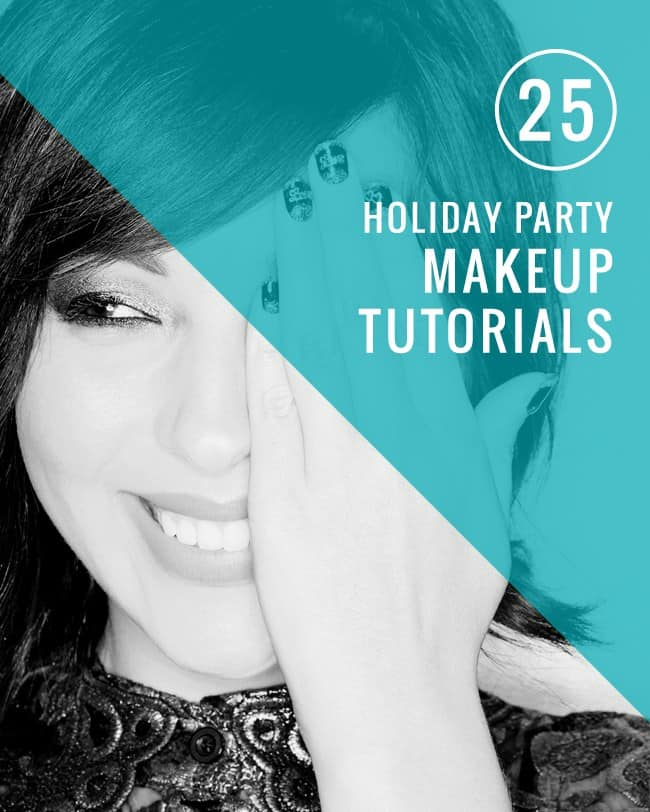 25 Holiday Party Makeup Tutorials | Hello Glow