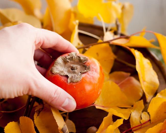 thanksgiving centerpiece - add fruit