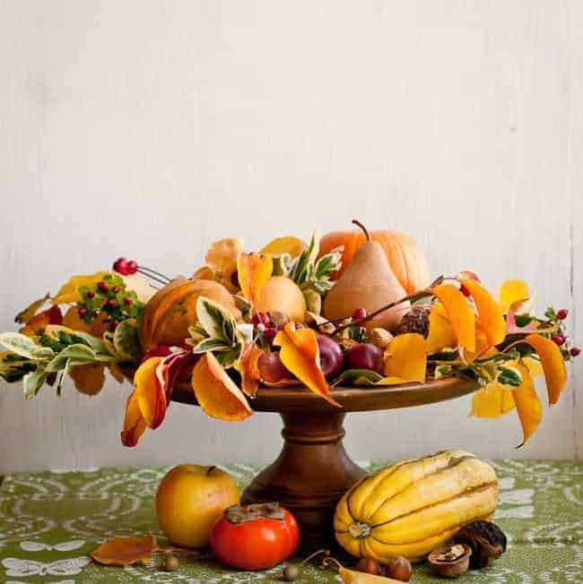 Natural Thanksgiving Centerpiece