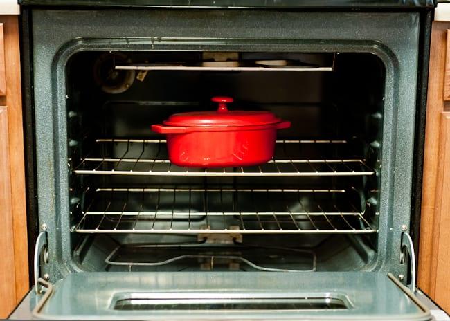 thanksgiving kitchen - oven