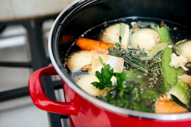 Turkey Stock recipe | Hello Glow