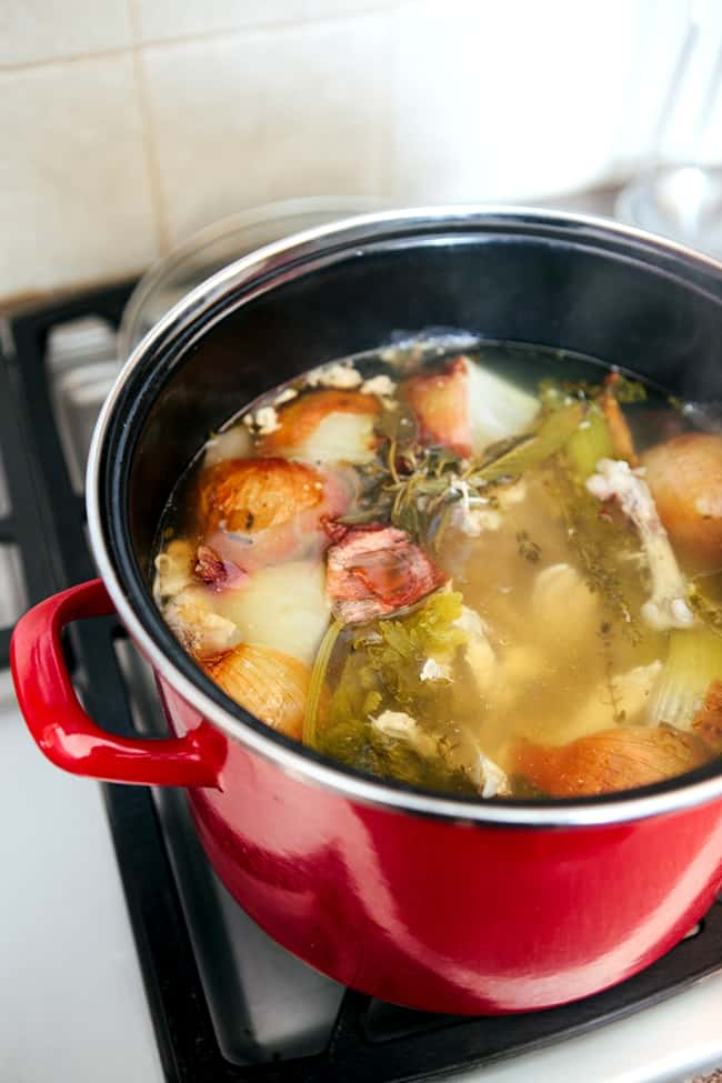 How to Make Turkey Stock Recipe | Hello Glow