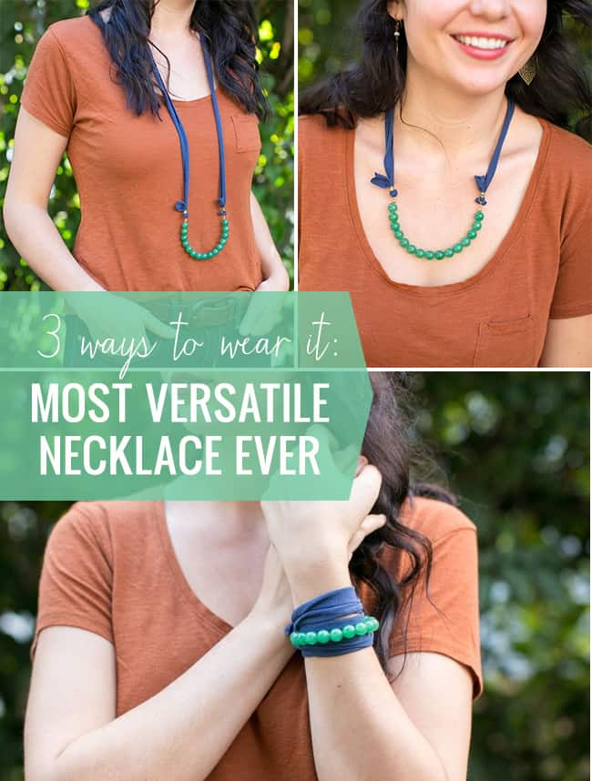 DIY The Most Versatile Necklace Ever | Henry Happened