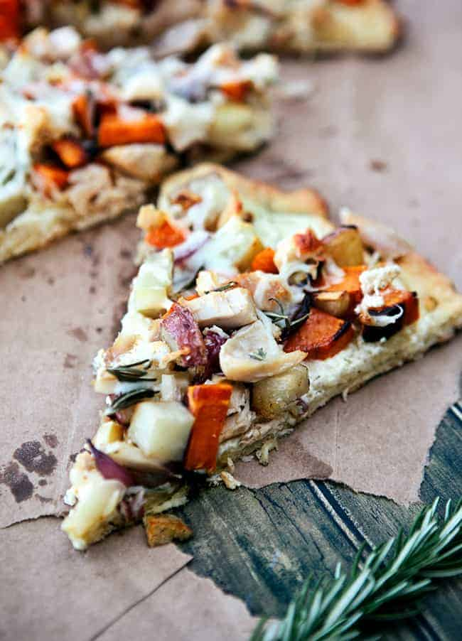 Winter Vegetable Pizza | 7 Ways To Make a Healthy Lunch in 10 Minutes or Less