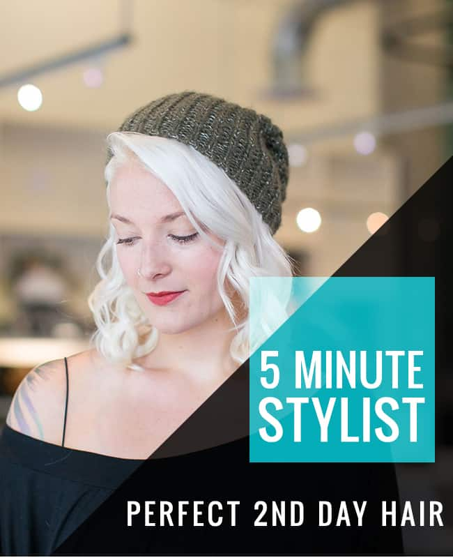 How to Get Perfect Second Day Hair
