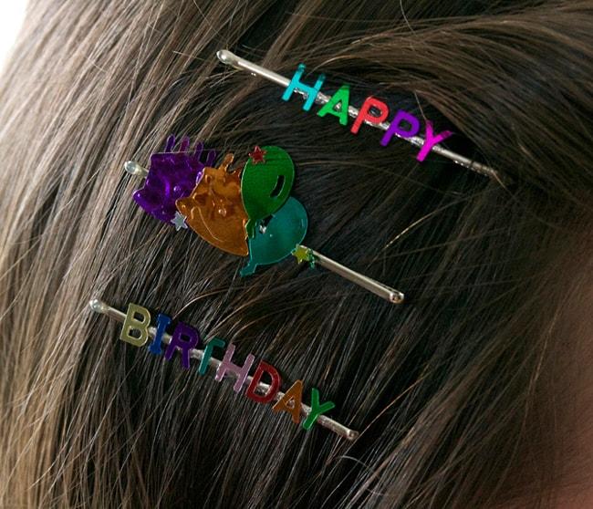25 Creative Ways to Use Confetti bobby pins
