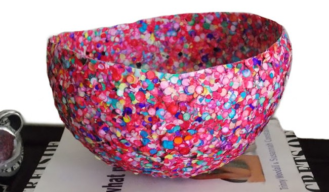 25 Creative Ways to Use Confetti bowl