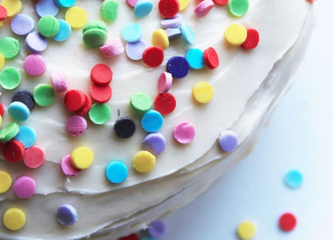 25 Creative Ways to Use Confetti cake