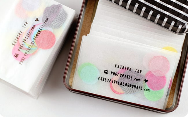 25 Creative Ways to Use Confetti calling cards