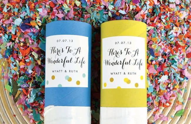 25 Creative Ways to Use Confetti launchers