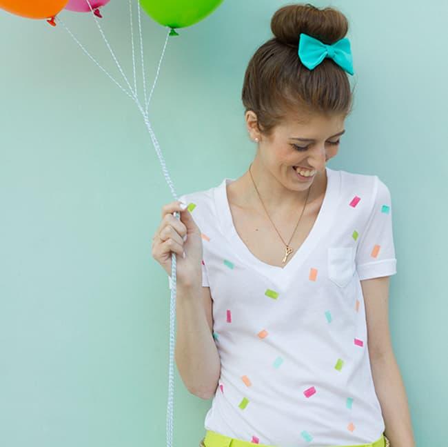 25 Creative Ways to Use Confetti shirt