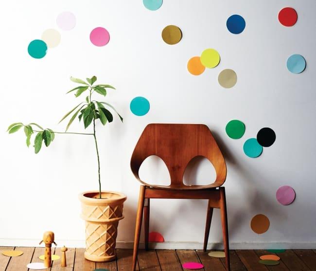 25 Creative Ways to Use Confetti wall