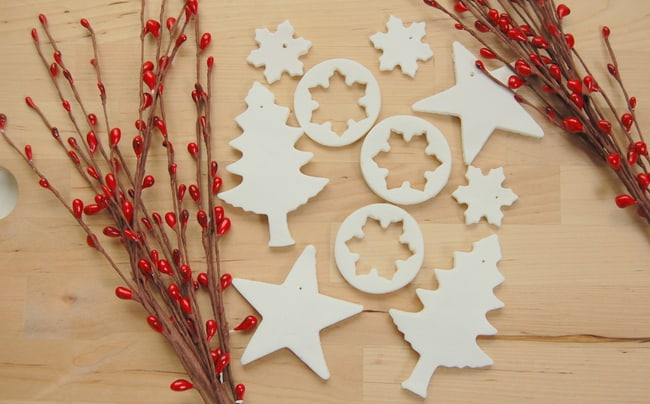 25 DIY Ornaments Salt Dough