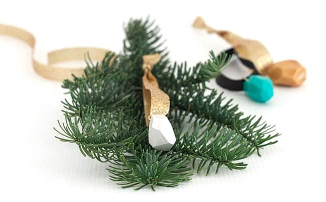 25 DIY Ornaments  Faceted Gems
