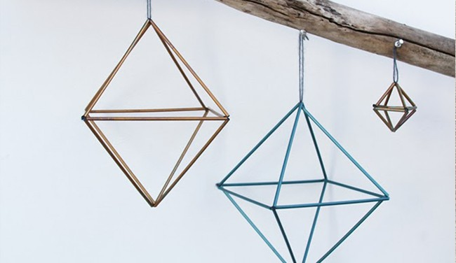 Geometric Christmas Ornaments Decore