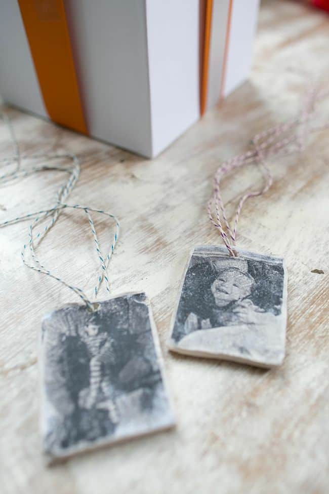 DIY Photo Gift Tags | Hello Glow