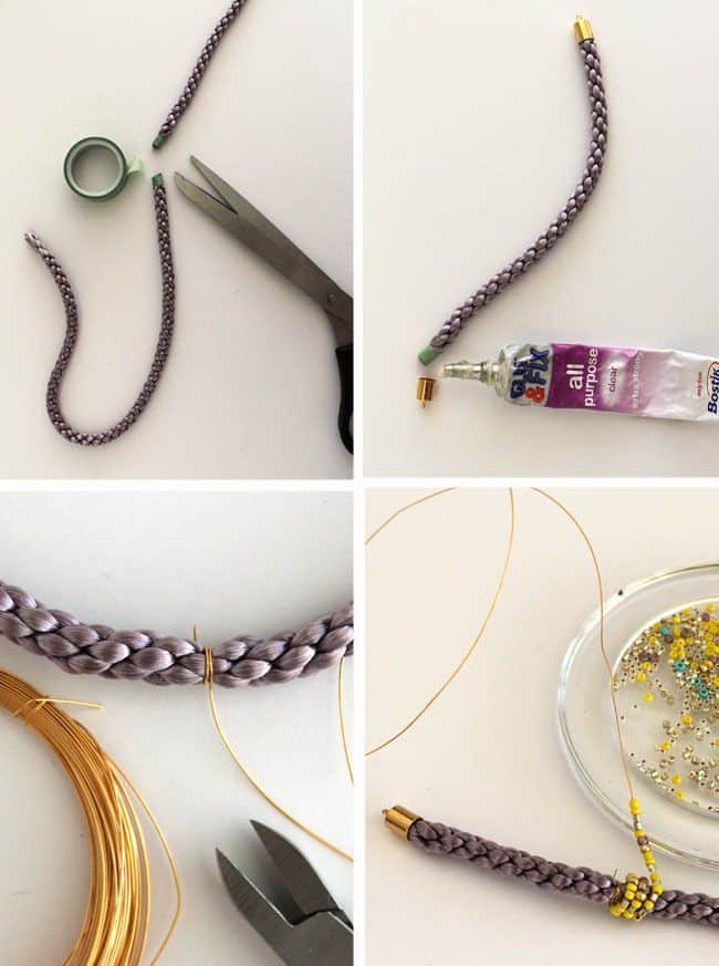 How to Make DIY Cord Bead Bracelets | Henry Happened