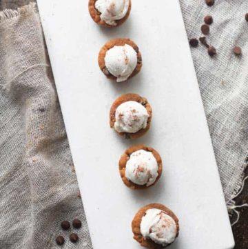 Gluten Free Chocolate Chip Cookie Tassies