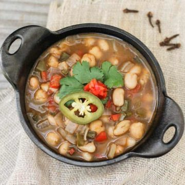 Chickpea and White Bean Chili