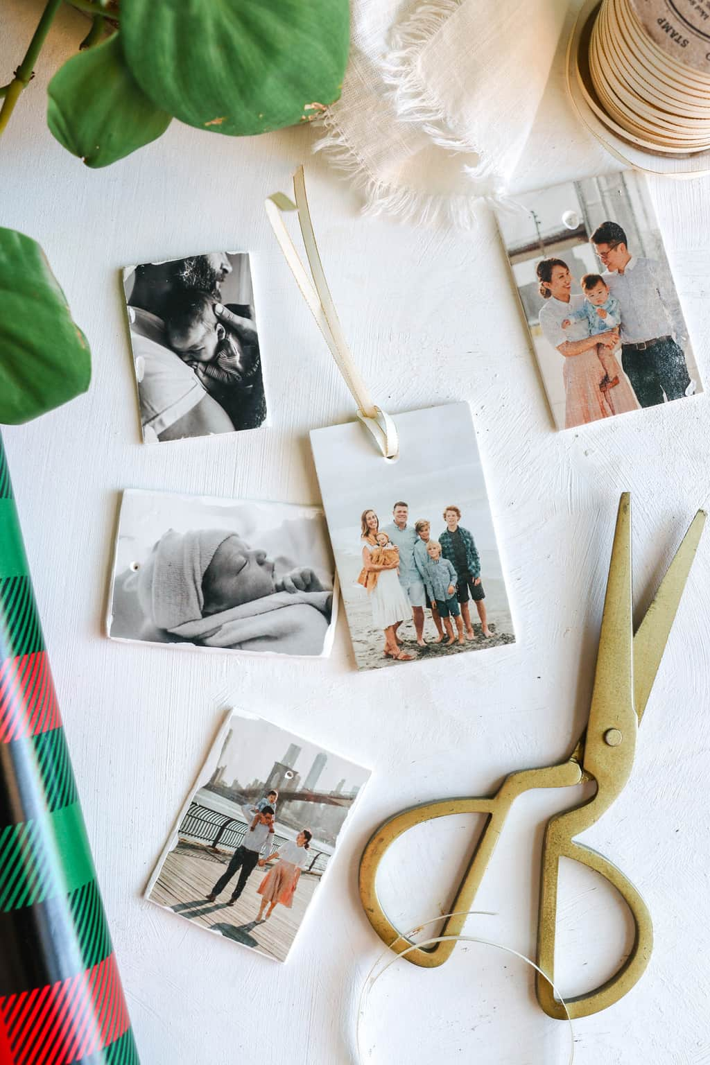 DIY photo transfer gift tags - Hello Glow