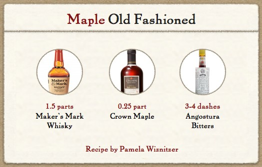 Maple Old Fashioned | Hello Glow