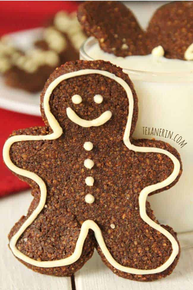 Soft and Chewy Grain-free Gingerbread Men