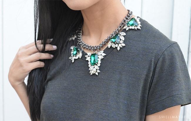 Gem necklace   Hello Glow