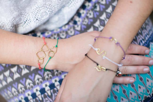 Wire shapes bracelets | Henry Happened