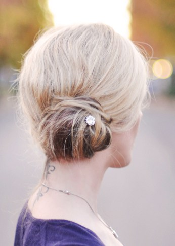 Low side bun by Love Meagan