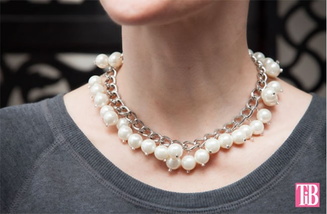 Statement pearl necklace | Henry Happened